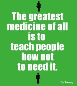 Not to Need Medicine Tidak Butuh Obat Kimia