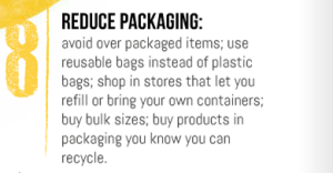 8 - Reduce Packaging